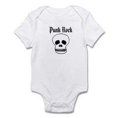 Punk Rock - Skull Infant Bodysuit