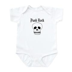 Punk Rock - Skull Infant Bodysuit