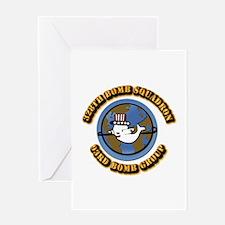 AAC - 328th BS,93rd BG Greeting Card