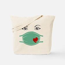 Hospital Mask Tote Bag