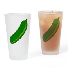Pickle Drinking Glass