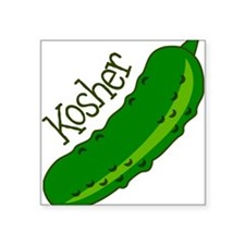 "Kosher Square Sticker 3"" x 3"""