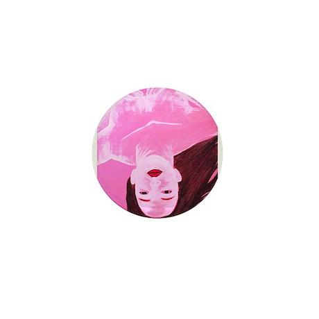 Wishing Water Pink Mini Button (10 pack)
