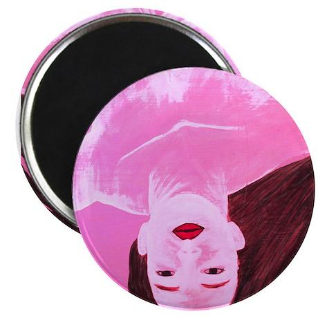"Wishing Water Pink 2.25"" Magnet (10 pack)"