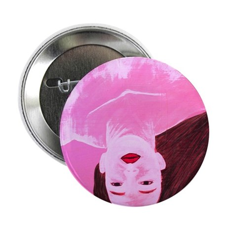 """Wishing Water Pink 2.25"""" Button (100 pack)"""