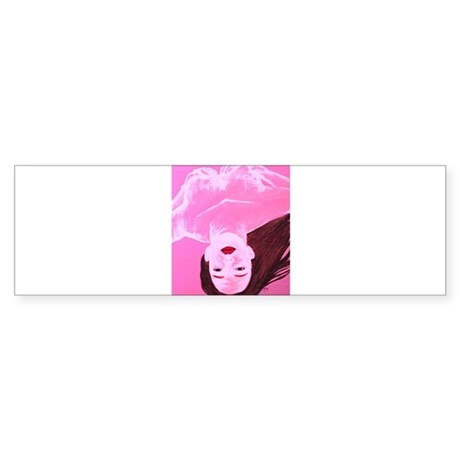 Wishing Water Pink Sticker (Bumper)