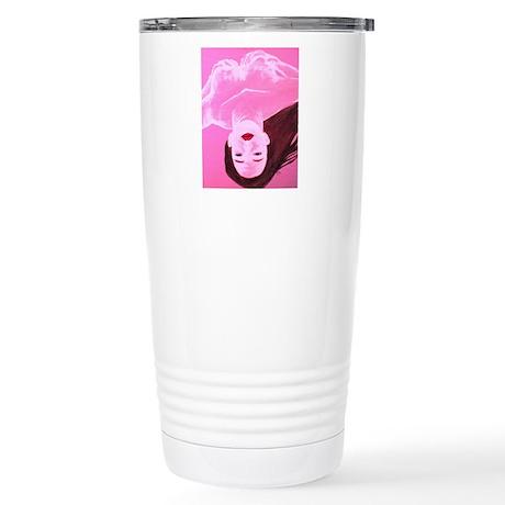 Wishing Water Pink Stainless Steel Travel Mug