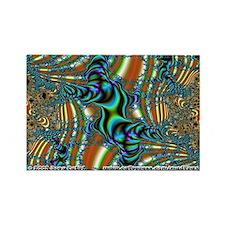 Fractal C~10 Rectangle Magnet