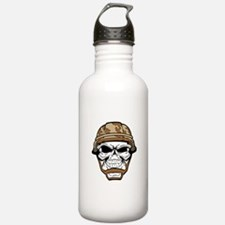 camo skull Water Bottle
