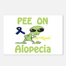 Pee on Alopecia Postcards (Package of 8)