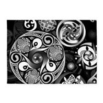 Celtic Clockwork 5'x7'Area Rug