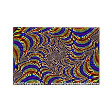 Fractal C~12 Rectangle Magnet