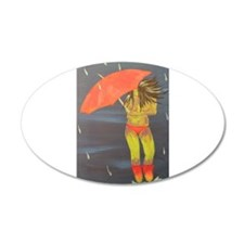 Dancing Rain Wall Decal