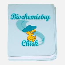 Biochemistry Chick #3 baby blanket