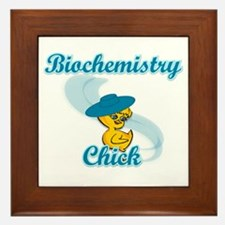 Biochemistry Chick #3 Framed Tile