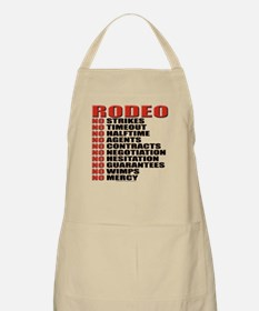 """Rodeo - No Mercy"" Apron"