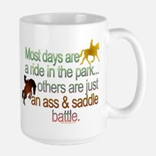 Ride in the park.png Large Mug