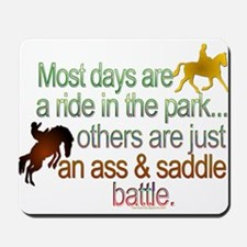 Ride in the park.png Mousepad