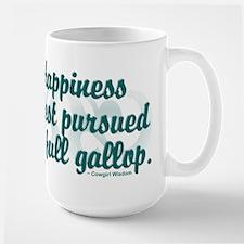 """PURSUE HAPPINESS"" Large Mug"