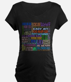 Foundation Names - Color.png T-Shirt