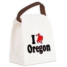 I rodeo OREGON! Canvas Lunch Bag