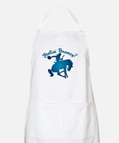 "NEW!! ""Feelin' Broncy?"" Apron"