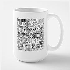 """""""FOUNDATION NAMES"""" Large Mug"""
