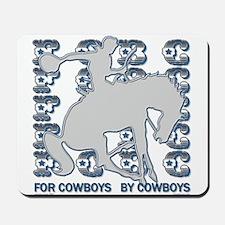 FCBC Metal Cowboy.png Mousepad