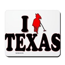 I (polo) Texas.png Mousepad