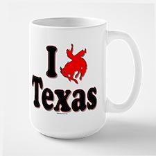 I (rodeo) Texas Mugs