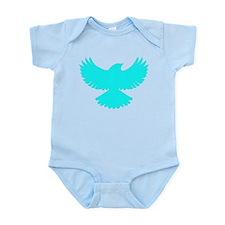 Robin Superhero Parody Blue Bird Infant Bodysuit