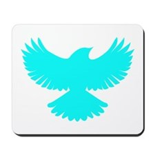 Robin Superhero Parody Blue Bird Mousepad