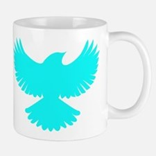 Robin Superhero Parody Blue Bird Mug