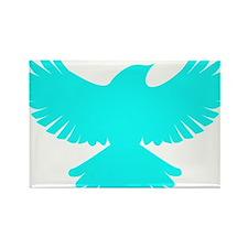 Robin Superhero Parody Blue Bird Rectangle Magnet