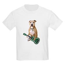 Pit Bull Ukulele T-Shirt