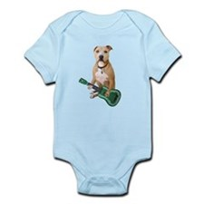 Pit Bull Ukulele Infant Bodysuit