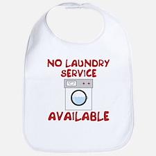 No Laundry Service Bib