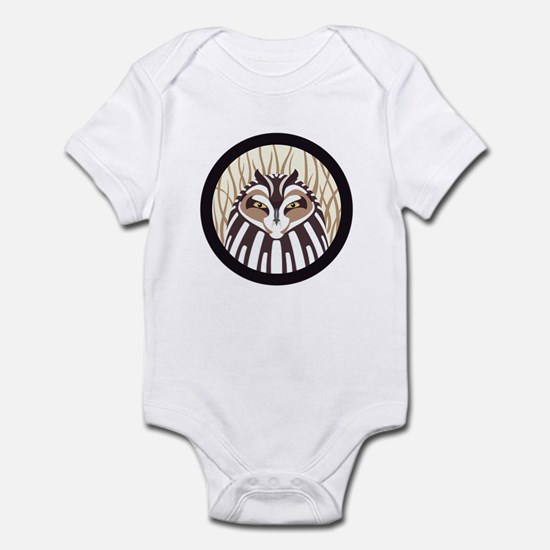Short-eared Owl Infant Bodysuit