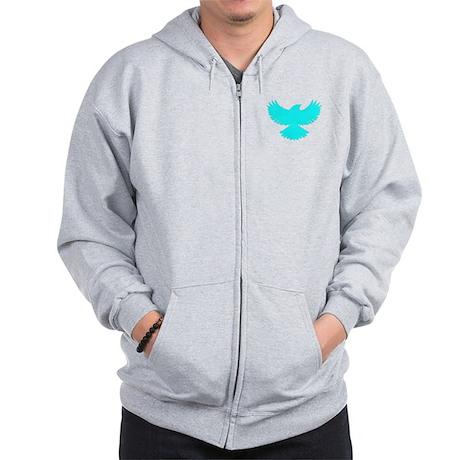 Robin Sidekick Superhero Bird Zip Hoodie