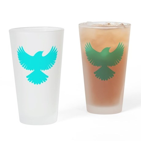 Robin Sidekick Superhero Bird Drinking Glass