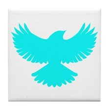 Robin Sidekick Superhero Bird Tile Coaster