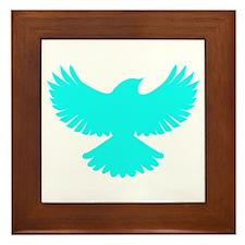 Robin Sidekick Superhero Bird Framed Tile