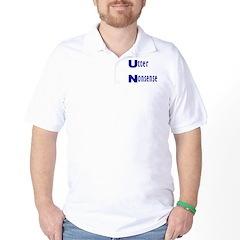 Utter Nonsense UN Golf Shirt