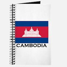Cambodia Flag Stuff Journal