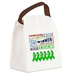 bone marrow transplant Canvas Lunch Bag