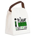 SCT I Wear Green Canvas Lunch Bag