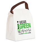 I Wear Green SCT Survivor Canvas Lunch Bag