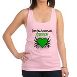 SCT Survivor Grunge Heart Racerback Tank Top