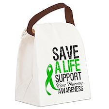 Save a Life Bone Marrow Canvas Lunch Bag