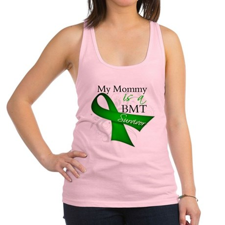 My Sister is a BMT Survivor.png Racerback Tank Top